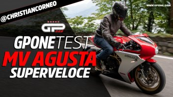 Moto - Test: Prova MV Agusta Superveloce 800: arte in movimento
