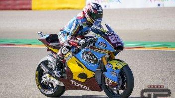 Moto2: Sam Lowes si prende la pole ad Aragon davanti a Bezzecchi e Di Giannantonio