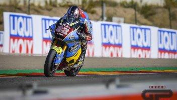 Moto2: Sam Lowes imprendibile nel warm up di Aragon