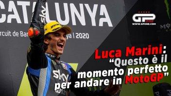 """Moto2: Luca Marini: """"Questo è il momento perfetto per andare in MotoGP"""""""