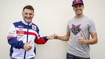 Moto2: Fabio Di Giannantonio torna del team Gresini con un contratto biennale