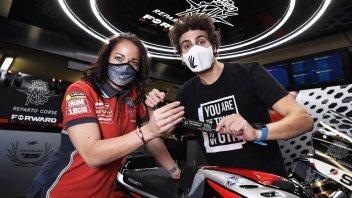 Moto2: Lorenzo Baldassarri torna in Forward con MV Agusta
