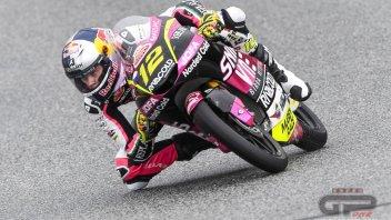 Moto3: Le Mans, FP2: Arriva l'asciutto, ne approfitta Salac che beffa Fenati