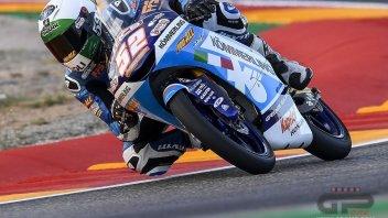 Moto3: Teruel, FP2: Alcoba il più veloce, ma non batte il tempo di Masia
