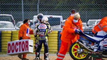 """Moto3: L'abbraccio fra Fenati e Lopez. Biaggi: """"c'è un gran clima nel team"""""""