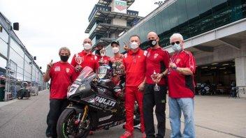 MotoAmerica: Lorenzo Zanetti vince a Indianapolis con la Ducati V4R