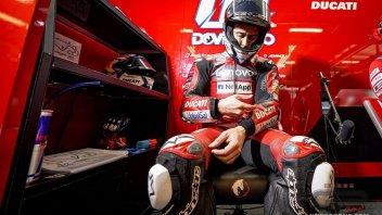 """MotoGP: Dovizioso: """"Dobbiamo continuare a sognare e a lavorare. Spesso sopravviviamo"""""""