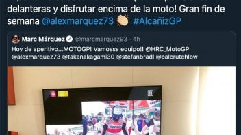 """MotoGP: Marc Marquez comforts Alex after his fall: """"You learn from mistakes"""""""