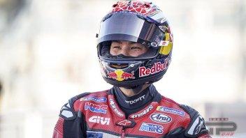 """MotoGP: Nakagami: """"Mi sono adattato alla Honda e ora mi diverto come un bambino"""""""