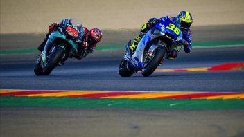 """MotoGP: Fabio Quartararo: """"Ho seguito Mir per capire dove guadagna la Suzuki"""""""