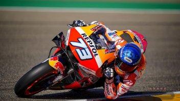 MotoGP: FP1 Teruel: Doppietta Honda ad Aragon: 1° Marquez, 2° Nakagami. Dovi 16°