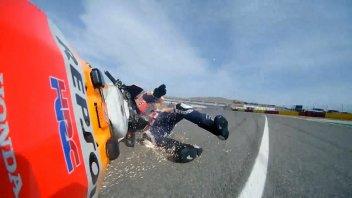 "MotoGP: Alex Marquez: ""I didn't keep my calm, I made a rookie mistake"""
