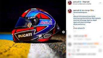 MotoGP: Nuovo casco per Danilo Petrucci a Le Mans: voglia di cambiare
