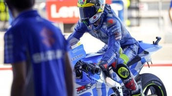 """MotoGP: Mir: """"I have slower riders in front of me, I'll have to overtake them without wasting time"""""""