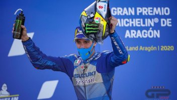 """MotoGP: Mir admits: """"I'm always trying to stay in the lead, because there's a risk of not finishing the world championship"""""""