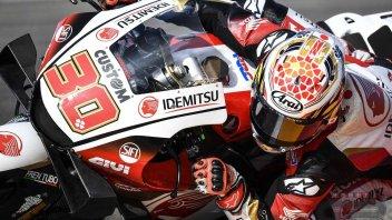 MotoGP: Warm Up Teruel: Nakagami prenota la vittoria, Morbidelli 2°. Dovizioso 6°