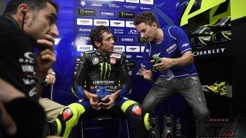 MotoGP: Test at Portimao: Valentino Rossi on the R1, Jorge Lorenzo on the M1