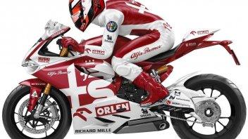 MotoGP: Ferrari e Alfa Romeo in MotoGP? Ecco come sarebbero