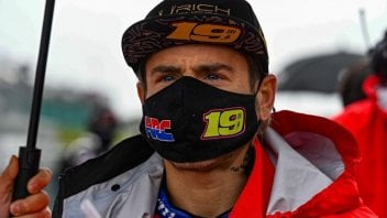SBK: Bautista suffering from rear grip problems in cold and wet conditions as in MotoGP