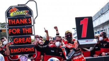 """SBK: Davies: """"Questa vittoria significa che le mie idee erano giuste"""""""