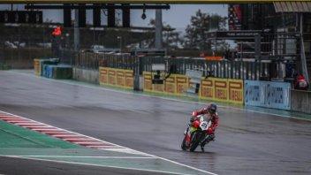 SBK: La Ducati torna a splendere nel WarmUP: 1° Rinaldi davanti a Baz