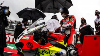 """SBK: Rinaldi: """"Garrett is a good guy but he needs to be in control a bit more"""""""