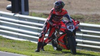 """SBK: Redding: """"Il ritiro? Dopo la caduta la Ducati non funzionava"""""""