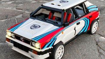 Auto - News: Lancia Delta Integrale 16V: la replica Martini di un amatore