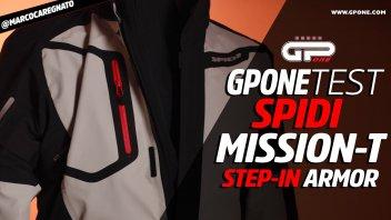 Moto - News: Spidi Mission-T: la multistrato perfetta, tre giacche in una