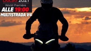 Moto - News: LIVE - Alle 19:00 Ducati presenta la Multistrada V4, qui lo streaming