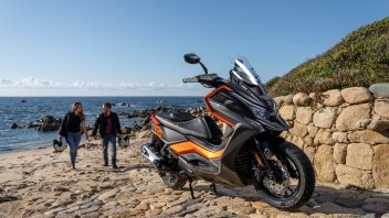 Moto - News: Kymco DT X360, lo scooter adventure crossover