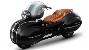 Moto - Scooter: Nmoto Golded Age: lo scooter art decò su baseBMW C 400 X si farà