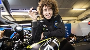 """Moto2: Bezzecchi: """"I was close to saying yes to Aprilia but the offer came late"""""""