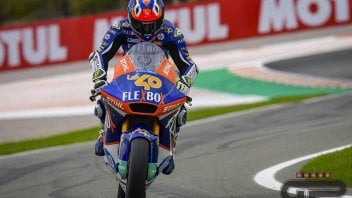 Moto2: Garzo è il migliore del warmup di Valencia, Bastianini 8°, Lowes 21°