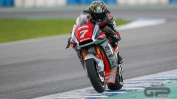 "Moto2: Baldassarri: ""I was afraid that with the MV Agusta I would have to start from scratch"""