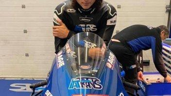 Moto2: VIDEO - Joe Roberts tests in Jerez the World Champion's bike