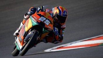Moto3: Fernandez centra la pole tra l'imbarazzo generale, Arbolino 27°