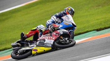 """Moto3: Il diario del team SIC58, Simoncelli: """"a Valencia niente è andato bene"""""""