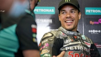 """MotoGP: Morbidelli: """"With Miller it was a dogfight: Jack was as good as me"""""""