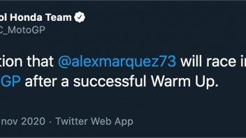MotoGP: Honda's confirmed it: Alex Marquez will race in Valencia