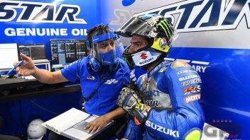 """MotoGP: Mir: """"The title? I don't like racing in defence, I'll go on the attack"""""""