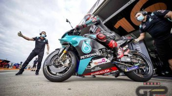 """MotoGP: Quartararo: """"Ho fatto più modifiche alla moto oggi che in tutto il 2019"""""""