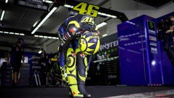 """MotoGP: Rossi: """"Oggi è stato Morbidelli a fare la differenza, non la M1 2019"""""""