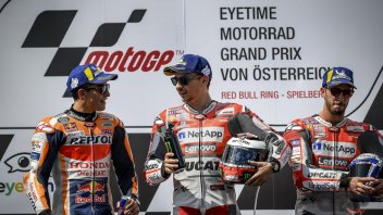 """MotoGP: Lorenzo: """"Dovizioso had a golden opportunity, he went off a bit mentally"""""""