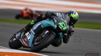 MotoGP: Morbidelli incanta nella FP3 di Valencia: Quartararo, Dovizioso e Rossi in Q1