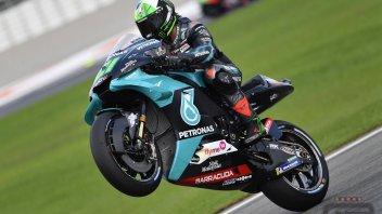 MotoGP: Morbidelli prenota Valencia dominando il Warm UP, Dovizioso 5°, Rossi 15°