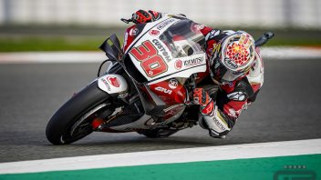 MotoGP: Nakagami 1° nella FP1 di Valencia: Morbidelli chiude 2°, Dovizioso 7°