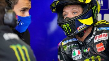 MotoGP: Second swab for Rossi this morning: result in the evening