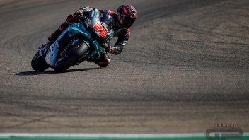 MotoGP: Pole di Quartararo ad Aragon, 2° Vinales. Dovizioso furioso e 13°