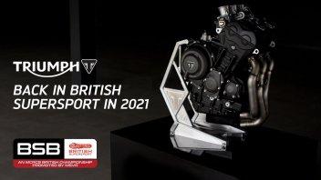 SBK: BSB, Triumph returns to British SuperSport S600 with Team PTR in 2021